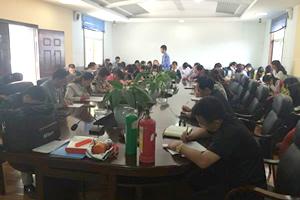 师宗县中医医院开展消防安全知识培训活动