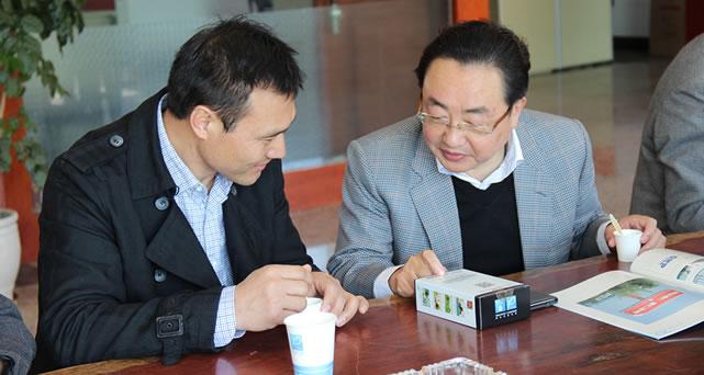 云南普瑞集团与理想集团洽谈合作