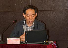 张超院长作《傣医学学科的建设与实践》专题报告