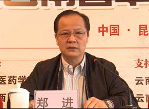 郑进会长:整合资源、齐心协力打造兰茂中医药学术品牌
