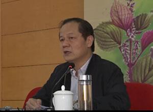 郑进教授做《兰茂医学与云南中医学》学术专题报告