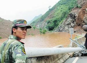 鲁甸抗震救灾英雄谢樵:我年轻,我先来……