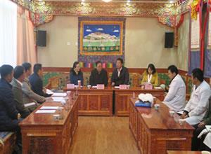迪庆州藏医医院赴拉萨考察藏医药发展情况