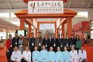 玉溪市中医医院亮相健康旅游馆,特色诊疗显实力