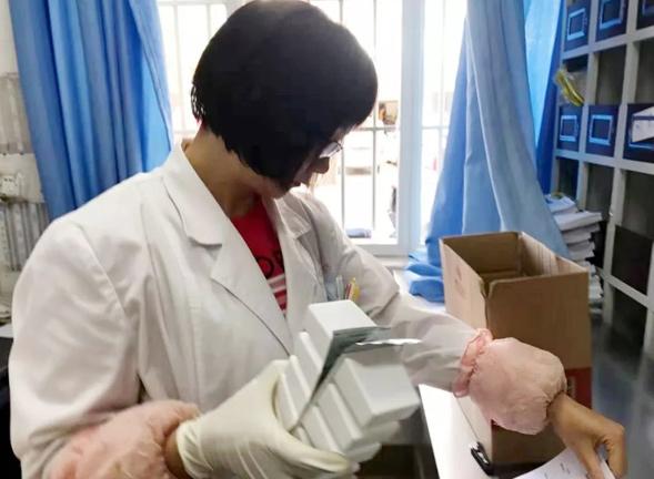 智慧医疗丨寻甸县中医医院顺利完成第一单线上药品配送
